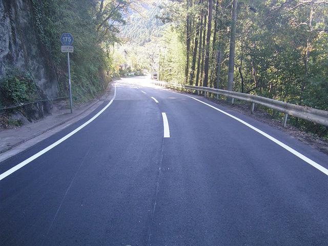 地方道舗装一般県道 上日野藤岡線