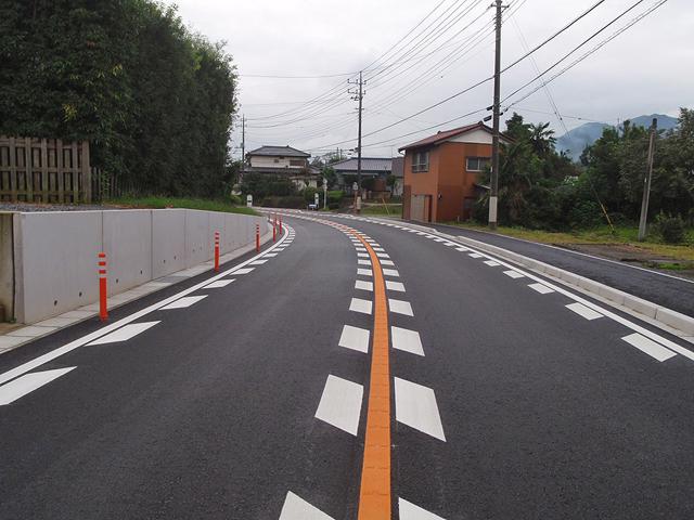 主要地方道 前橋長瀞線保美工区